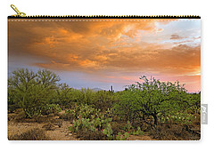 Carry-all Pouch featuring the photograph Sonoran Desert H11 by Mark Myhaver