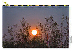 Sonoran Desert Harvest Moon Carry-all Pouch