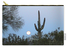 Sonoran Desert Moonset Carry-all Pouch