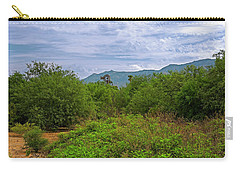 Carry-all Pouch featuring the photograph Sonoran Greenery H30 by Mark Myhaver