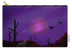 Sonoran Lucid Dream Carry-all Pouch by J Griff Griffin