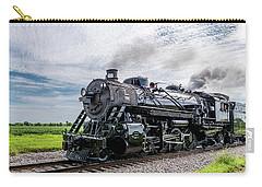 Carry-all Pouch featuring the photograph Soo 1003 At Darien 2 by Randy Scherkenbach