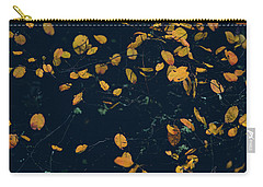 Carry-all Pouch featuring the photograph Soon They Fall by Gene Garnace