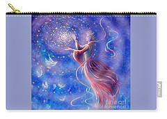 Sophia Finds Wisdom Carry-all Pouch by Dee Davis
