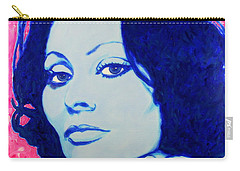 Sophia Loren Pop Art Portrait Carry-all Pouch