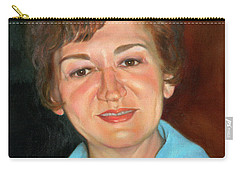 Carry-all Pouch featuring the painting Sophie by Marlene Book