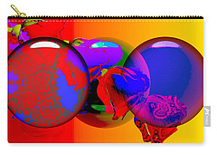 Carry-all Pouch featuring the digital art Sophistacated Lady by Robert Orinski