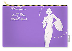 Sophisticated Lady Sheet Music Art Carry-all Pouch