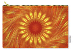 Carry-all Pouch featuring the digital art Soul Charger By Rgiada by Giada Rossi
