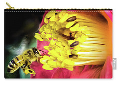 Soul Of Life Carry-all Pouch by Karen Wiles