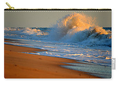 Sound Of The Surf Carry-all Pouch by Dianne Cowen