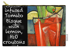 Soup Of The Day Tomato Bisque Poster Carry-all Pouch