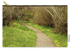 Carry-all Pouch featuring the photograph Sour Grass Trail by Art Block Collections