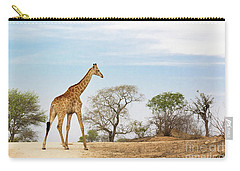 South African Giraffe Carry-all Pouch