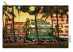 South Beach Ocean Drive Carry-all Pouch