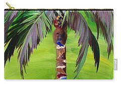 South Beach Palm IIi Carry-all Pouch by Kristen Abrahamson