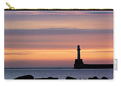 South Breakwater At Dawn - 2 Carry-all Pouch