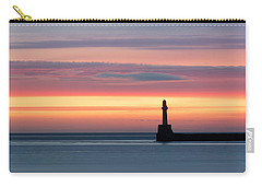 South Breakwater At Dawn Carry-all Pouch
