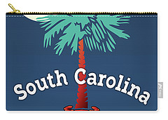 South Carolina Palmetto Crab Carry-all Pouch