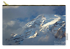 South Face - Mount Rainier Carry-all Pouch by Sean Griffin