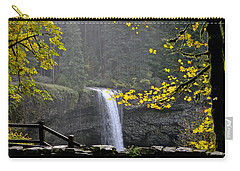 South Falls Of Silver Creek Carry-all Pouch
