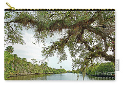 South Fork Of The Saint Lucie River Carry-all Pouch