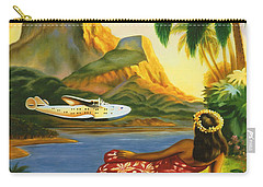 South Sea Isles Carry-all Pouch