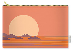 South Sea Morning Moon Carry-all Pouch