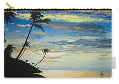 Carry-all Pouch featuring the painting South Sea Sunset by Norm Starks
