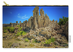 Carry-all Pouch featuring the photograph South Tufa 1 by Craig J Satterlee