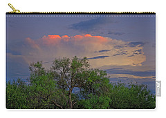 Carry-all Pouch featuring the photograph Southeast Of Sunset H38 by Mark Myhaver
