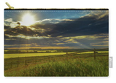 Southern Alberta Crop Land Carry-all Pouch