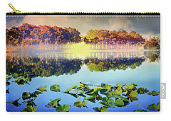 Carry-all Pouch featuring the photograph Southern Beauty by Debra and Dave Vanderlaan