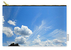 Southern Georgia Beautiful Sky Moment Carry-all Pouch by Belinda Lee