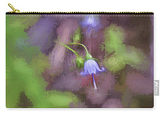 Carry-all Pouch featuring the photograph Southern Harebell Wildflower by Kerri Farley