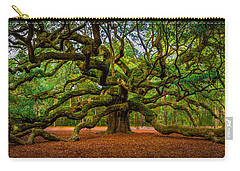 Angel Oak In Charleston Carry-all Pouch