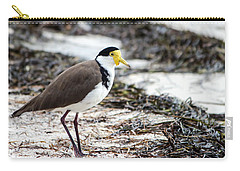 Southern Masked Lapwing Carry-all Pouch by Nicholas Blackwell