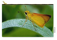 Southern Skipperling Butterfly  000 Carry-all Pouch by Chris Mercer