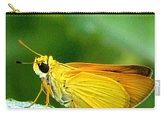 Southern Skipperling Butterfly 001  Carry-all Pouch by Chris Mercer