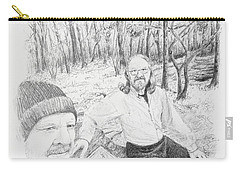 Southern Terminus  Carry-all Pouch by Daniel Reed
