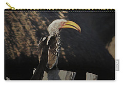 Southern Yellow Billed Hornbill Carry-all Pouch by Ernie Echols