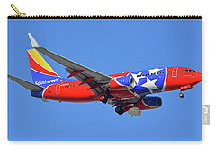 Southwest 737-7h4 N922wn Tennessee One Phoenix Sky Harbor November 28 2017 Carry-all Pouch