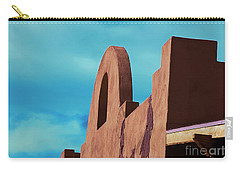 Southwest Architecture Carry-all Pouch by Anne Rodkin