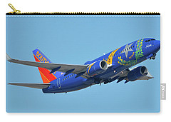Southwest Boeing 737-7h4 N727sw Nevada One Phoenix Sky Harbor October 14 2017 Carry-all Pouch