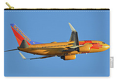 Southwest Boeing 737-7h4 N781wn New Mexico One Phoenix Sky Harbor November 11 2017 Carry-all Pouch