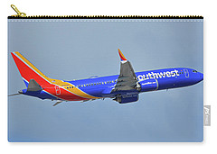Southwest Boeing 737-8 Max N8708q Phoenix Sky Harbor October 10 2017 Carry-all Pouch