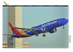 Southwest Boeing 737-8 Max N8709q Phoenix Sky Harbor October 2 2017 Carry-all Pouch