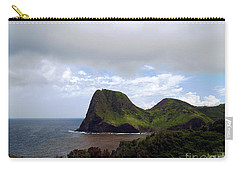 Carry-all Pouch featuring the photograph Southwest Coast Of Maui by Patricia Griffin Brett