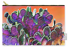 Southwest Desert Cactus Carry-all Pouch