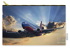 Southwest Dramatic Rays Of Light Carry-all Pouch